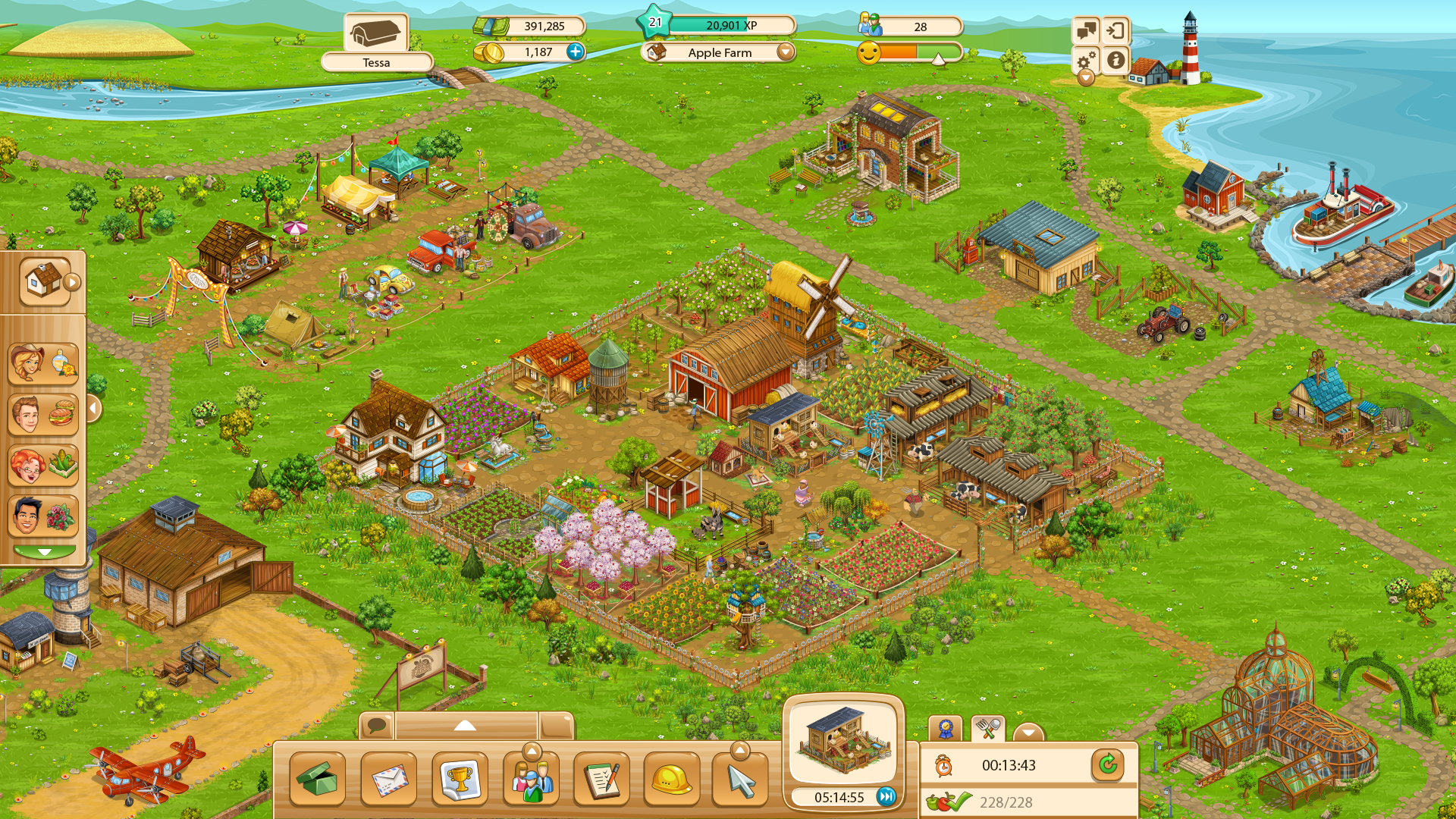 Goodgame Big Farm | Stillfront Group Goodgame Big Farm